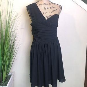 NWT express one shoulder cocktail dress